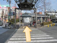 青葉台駅からのアクセス02