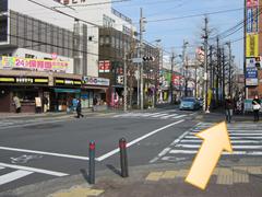 青葉台駅からのアクセス03